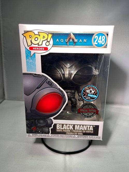 Aquaman MCM Exclusive Limited Edition Black Manta Funko Pop