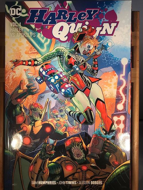 Harley Quinn Volume 1 Harley VS Apokolips TPB Graphic Novel