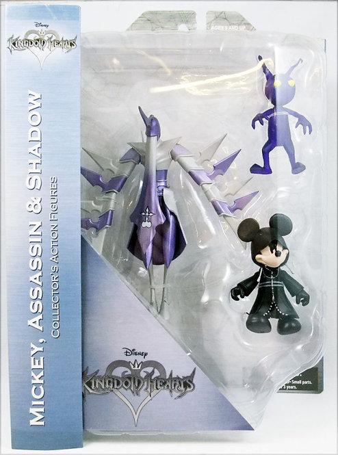 Mickey, Assassin & Shadow Diamond Selects