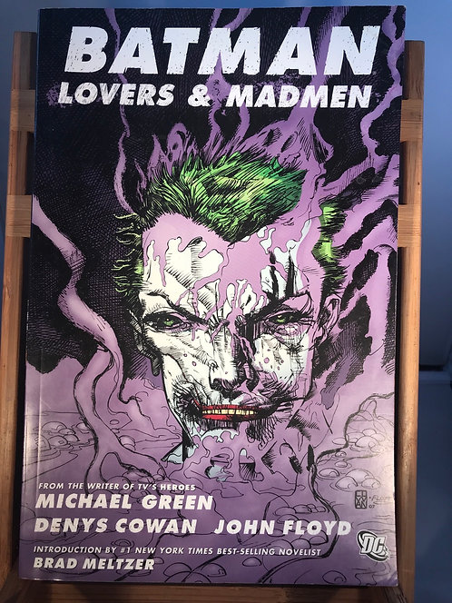 Batman Lovers & Madmen TPB Graphic Novel (Preowned)