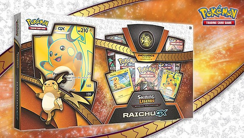 Pokemon Shining Legends Raichu GX Box NEW
