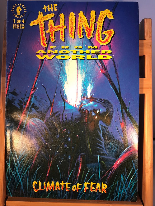 The Thing From Another World Climate Of Fear #1-4 Complete Set (Preowned)
