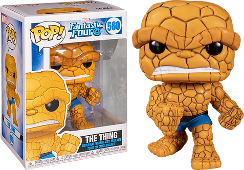 Funko Pop Fantastic Four The Thing