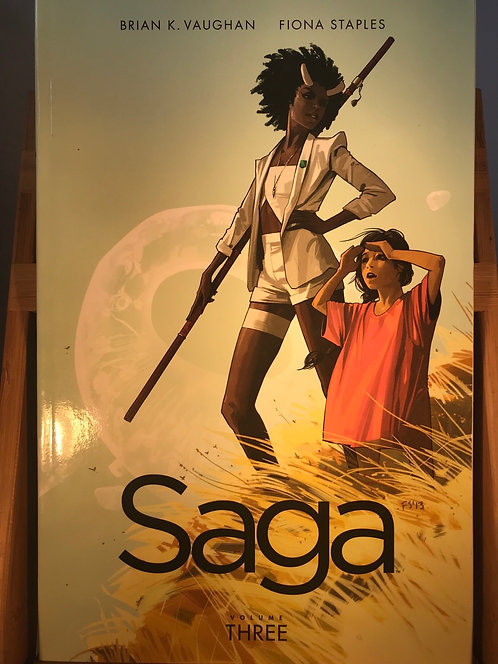 Saga Volume Three TPB Graphic Novel