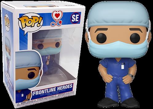 Funko Pop Frontline Heroes Man #1