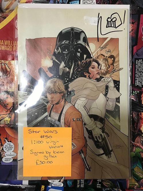 Star Wars 1:100 Virgin Variant Signed By Kieron Gillen