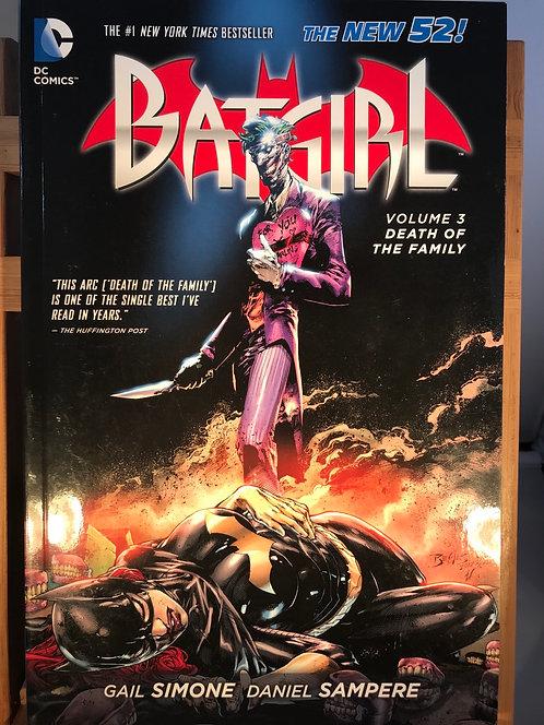 Batgirl Volume 3 Death Of The Family TPB Graphic Novel
