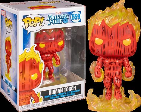 Funko Pop Fantastic Human Torch