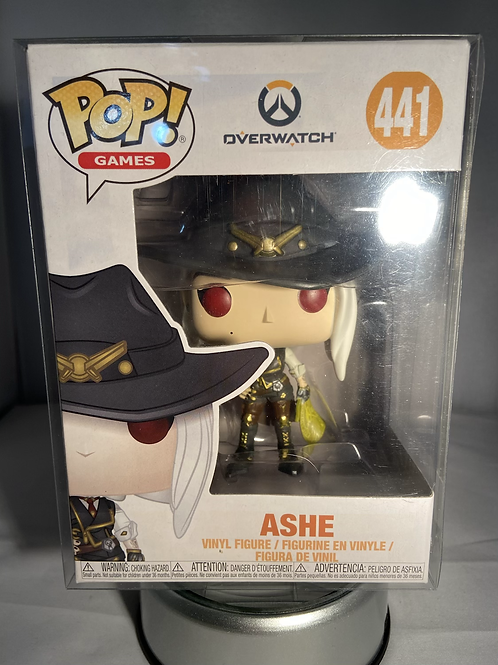 Overwatch Ashe Funko Pop In Pop Protector