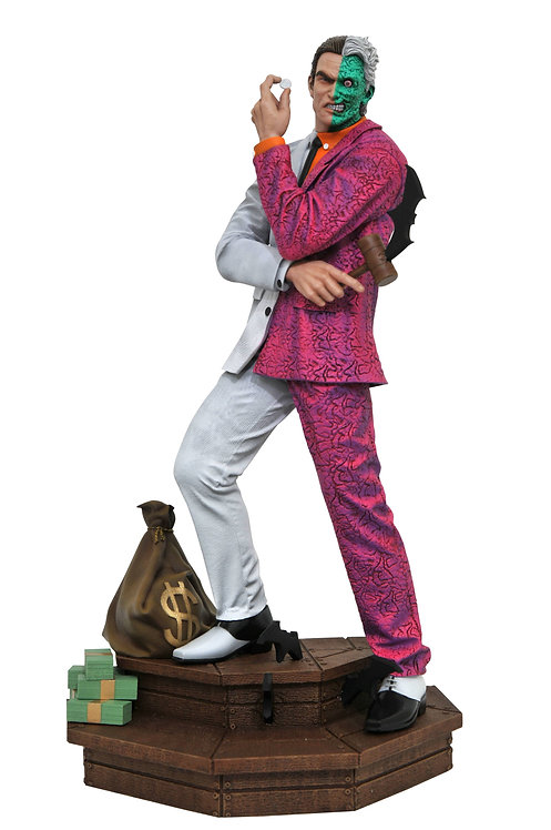 DC Two Face Gallery Statue