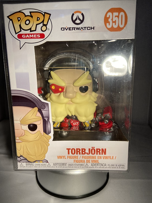 Overwatch Torbjorn Funko Pop In Pop Protector