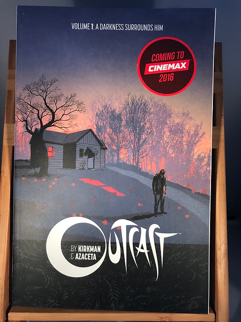 Outcast Volume 1 A Darkness Surrounds Him TPB Graphic Novel