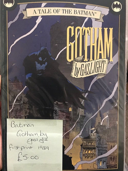Batman Gotham By Gaslight TPB Graphic Novel (Preowned)