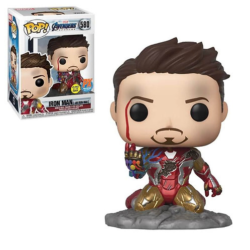 Funko Pop Avengers Iron Man Px Exclusive GITD
