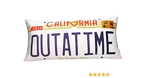 Back To The Future Outatime Pillow