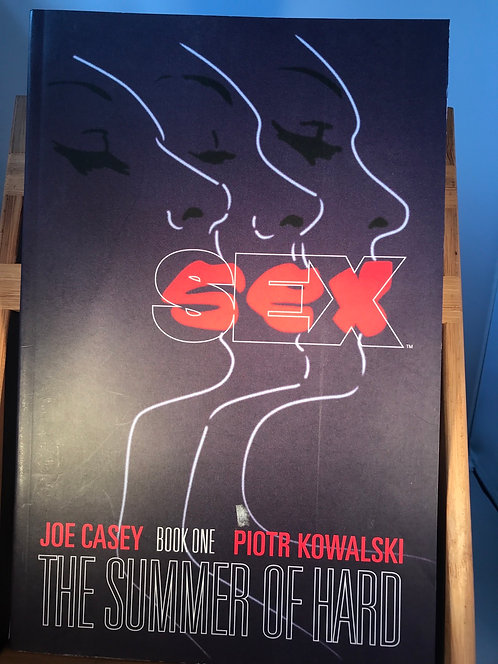 Sex The Summer Of Hard TPB Graphic Novel