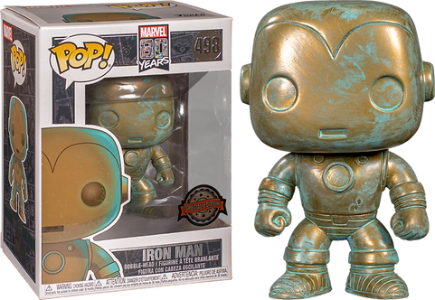 Marvel 80 Years Iron Man Funko Pop
