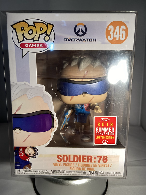 Overwatch Soldier 76 2018 Summer convention Exclusive Limited Edition Funko Pop