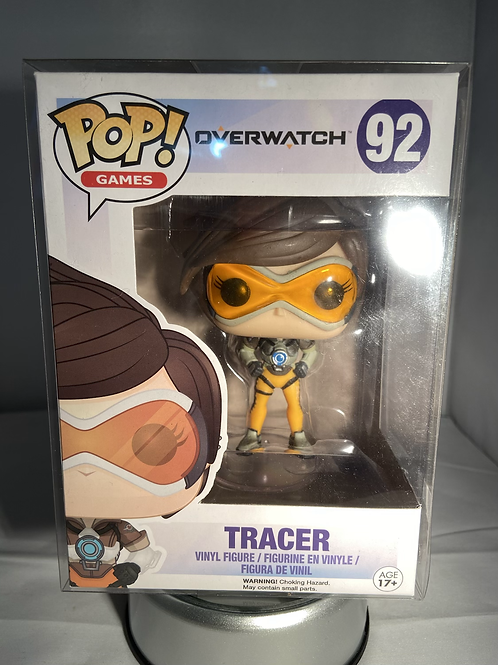Overwatch Tracer Funko Pop In Pop Protector