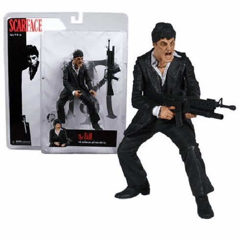 Mezco Scarface Figure (Preowned)