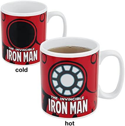 Marvel Invincible Iron Man Heat Change Mug