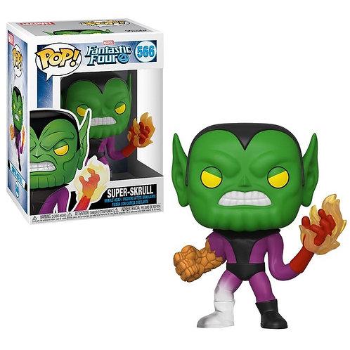 Marvel Fantastic Four Super-Skrull Funko Pop