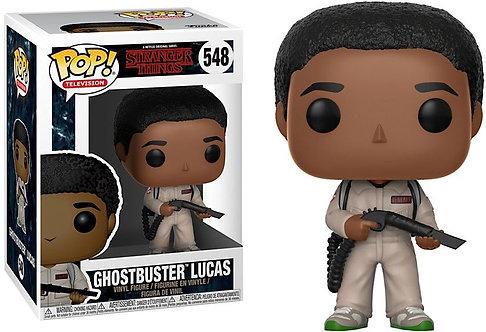 Funko Pop Stranger Ghostbusters Lucas