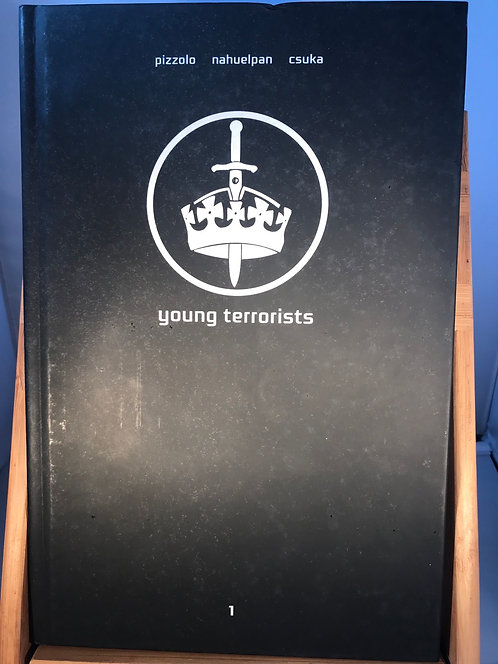 Young Terrorists Local Comic Shop Day Exclusive Hardback Graphic Novel