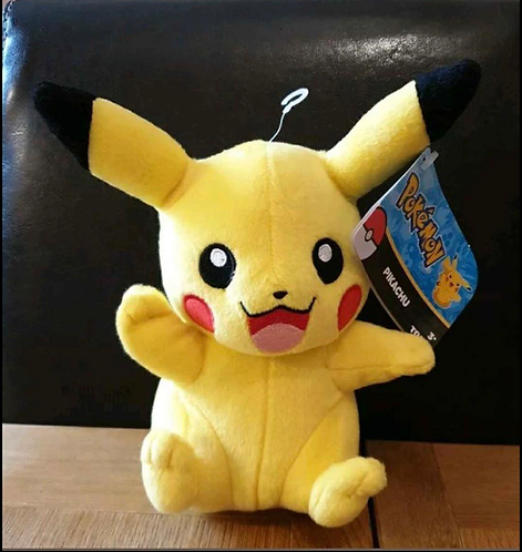 "Pokémon Pikachu Official 7"" Plush Soft Toy"