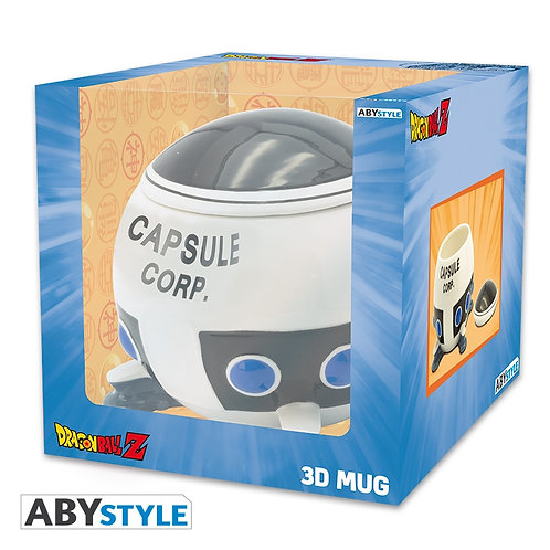 Dragonball Z Capsule Corp 3D Mug With Lid