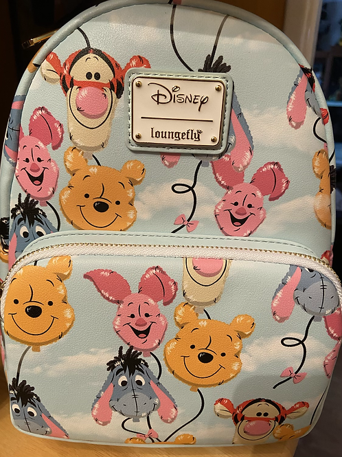 Loungefly Disney Balloon Friends Winnie the Pooh backpack