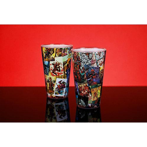 Marvel Deadpool Glass Comic Style