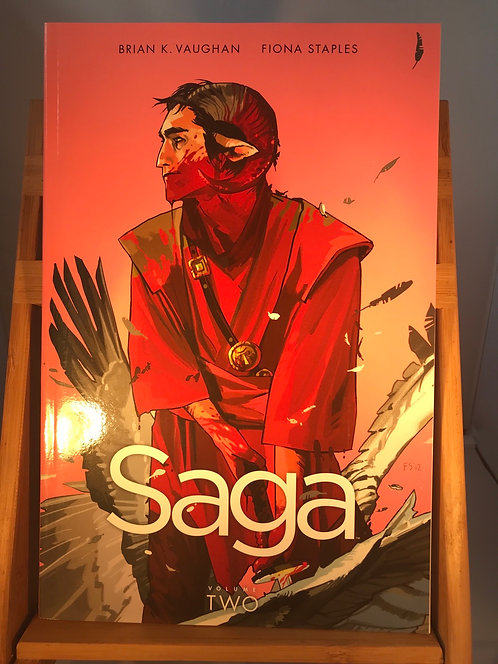 Saga Volume Two TPB Graphic Novel