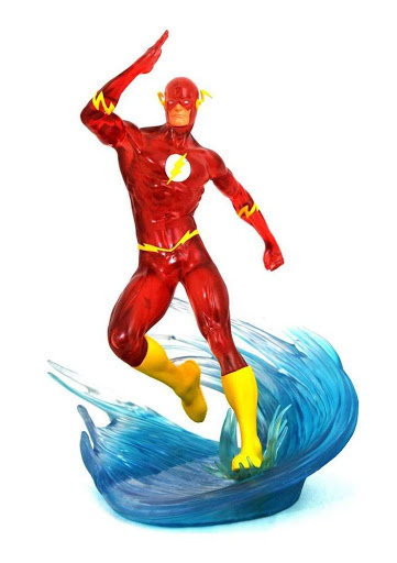 The Flash Gallery Statue