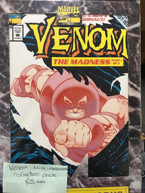 Venom Mini Masters Collectors Pack (Preowned)