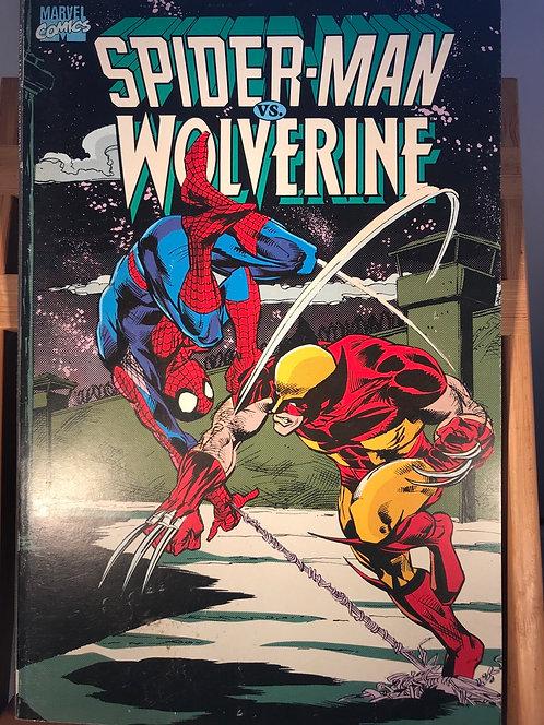 Spider-Man vs Wolverine TPB Graphic Novel
