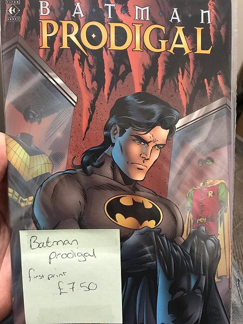 Batman Prodigal Graphic Novel  (Preowned)