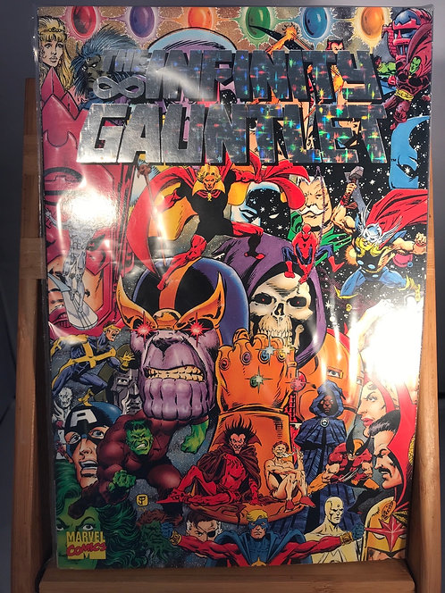 The Infinity Gauntlet Foil Prismatic TPB Graphic Novel