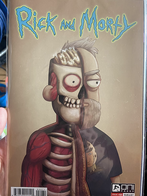 Rick And Morty #50 Oversized 1:25 Rare Comic