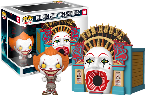 I.T Demonic Pennywise & Funhouse Funko Pop