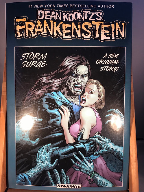 Dean Koontz Frankenstein Storm Surge SIGNED Edition HB Graphic Novel