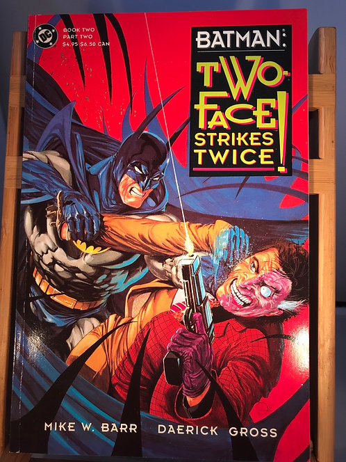 Batman Two Face Strikes Twice Book One & Two TPB Graphic Novel (Preowned)