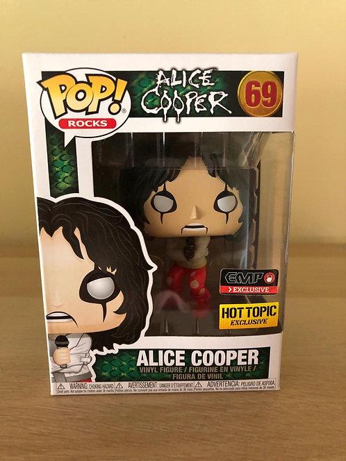 Alice Cooper Hot Topic EMP Exclusive Funko Pop