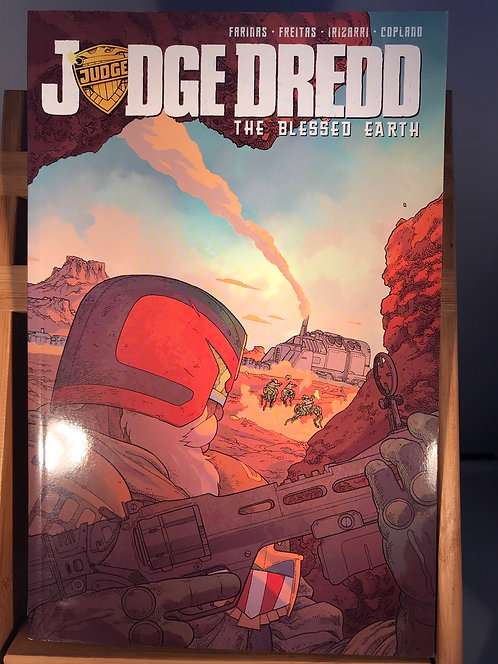Judge Dredd The Blessed Earth Volume 1 TPB Graphic Novel