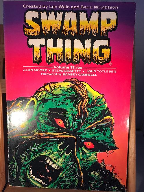 Swamp Thing Volume Three TPB Graphic Novel