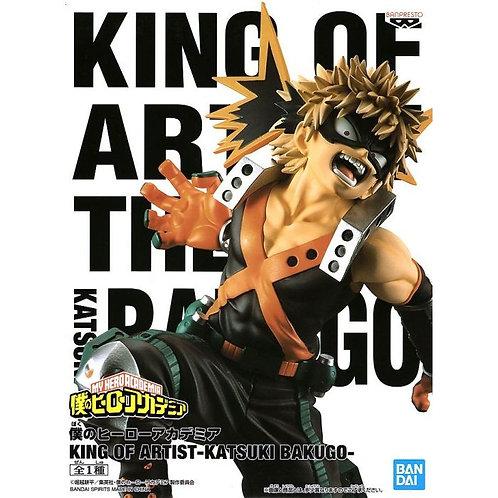 My Hero Academia King Of Artist Bakugo Katsuki Bakugo Statue Figure