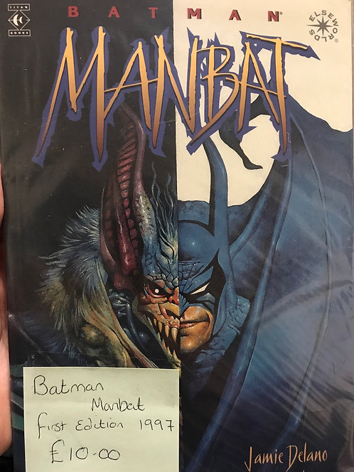Batman ManBat Graphic Novel (Preowned)