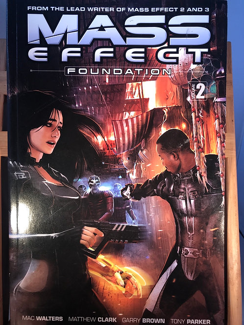 Mass Effect Foundation Volume 2 TPB Graphic Novel
