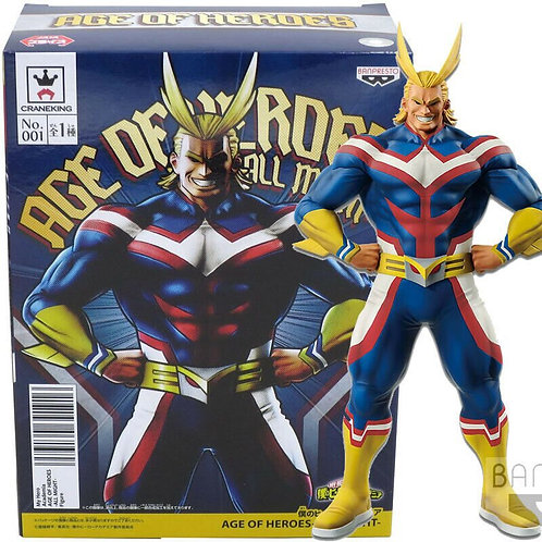 My hero academia age of heroes all might figure statue