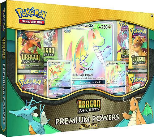 Pokemon Dragon Majesty Premium Powers Collection Box